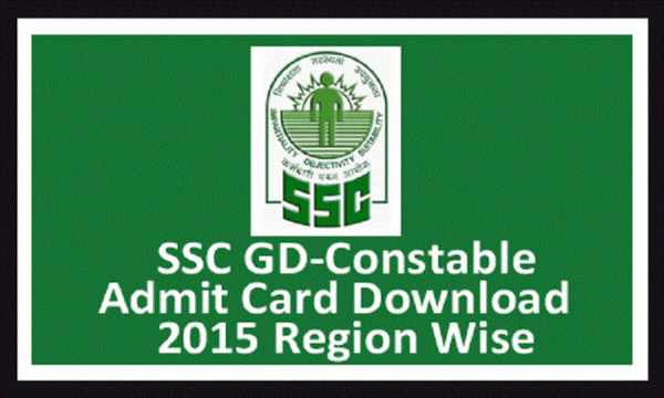 SSC Constable GD Admit Card 2015 For Written Exam Released For All ...
