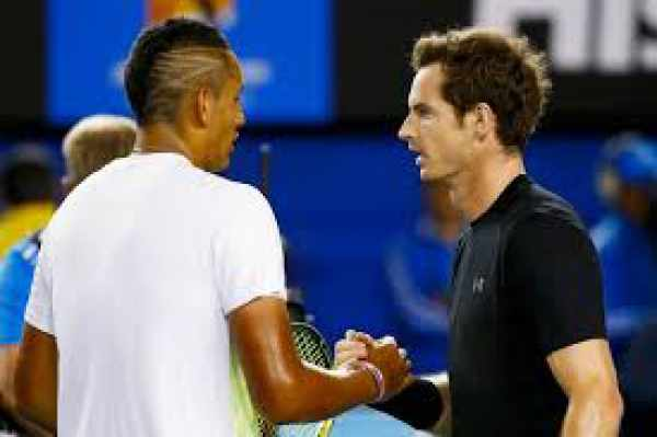 Nick Kyrgios vs Andy Murray Live Streaming
