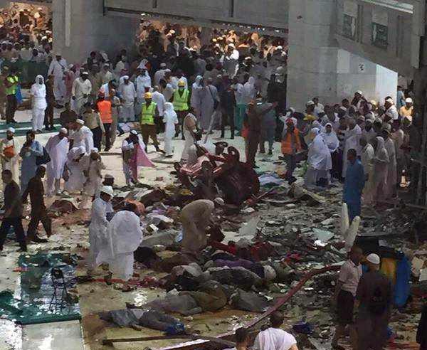Mecca's Grand Mosque: Crane Accident