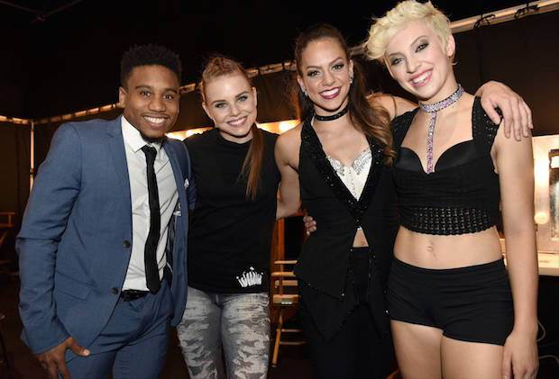 "SO YOU THINK YOU CAN DANCE: (L-R) Top 4 contestants Virgil Gadson, Jana ""JaJa"" Vankova, Gaby Diaz and Hailee Payne on SO YOU THINK YOU CAN DANCE airing Monday, September 7 (8:00-10:00 PM ET live/PT tape-delayed) on FOX. ©2015 FOX Broadcasting Co. Cr: Michael Becker"