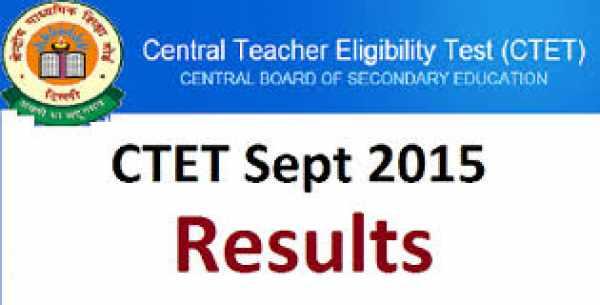 ctet result 2015