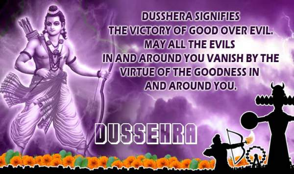 Happy Dussehra 2018 Wishes, SMS Messages, Quotes, Greetings, Whatsapp Status in Hindi, English, Marathi, Bengali, Nepali