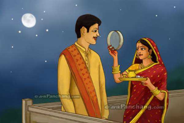 Karva Chauth moon rise time