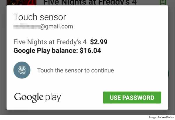 Android 6.0 Marshmallow Now Has Fingerprint Authentication on Google Play