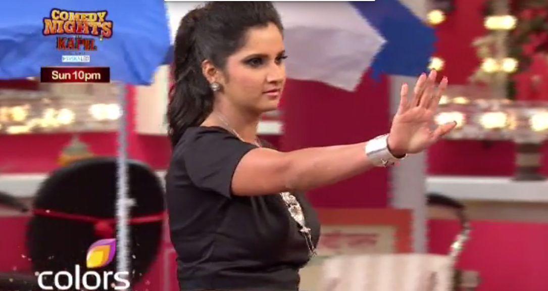 Sania Mirza on CNWK