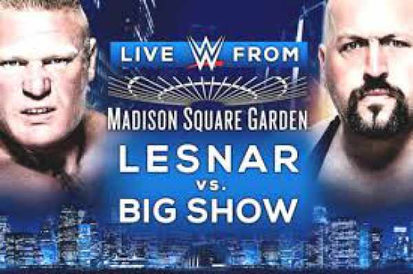 WWE MSG 2015 Results Winner