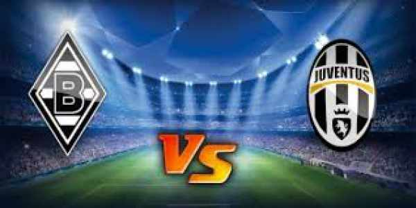 Borussia M'Gladbach vs Juventus Live Streaming