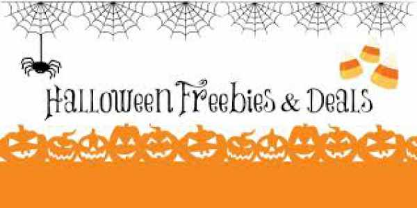 Halloween Freebies Deals - 31st October 2016