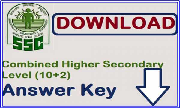 ssc chsl answer key 2015