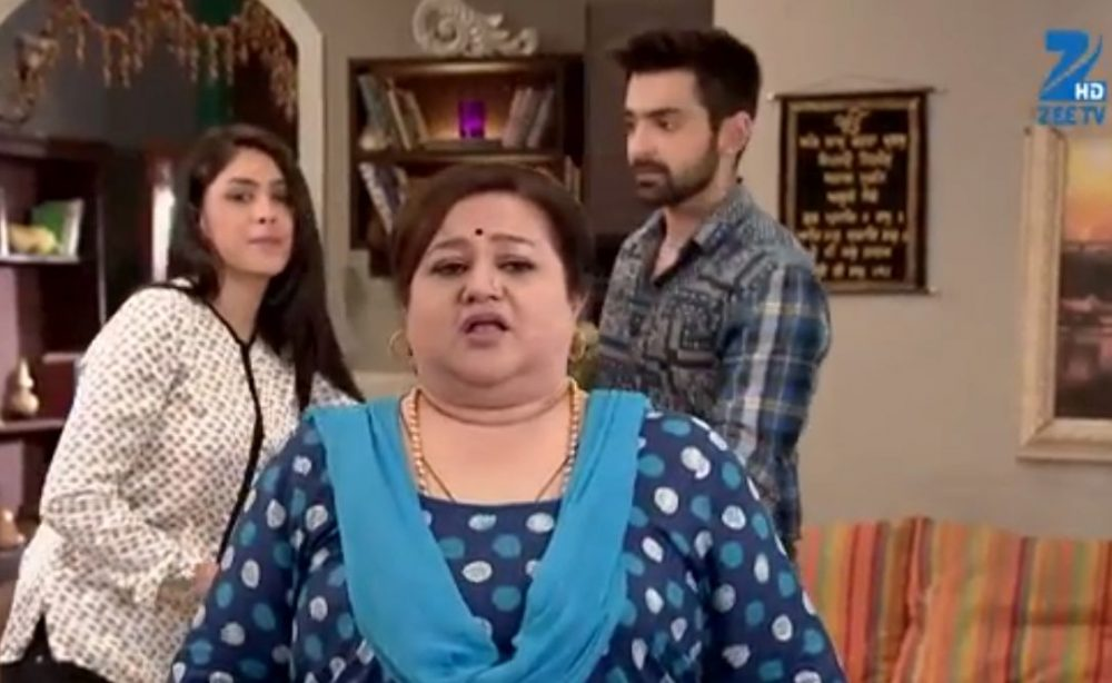 Sarla shocked Kumkum Bhagya-compressed