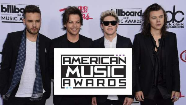 American Music Awards (AMA) 2015 Winners List Complete - Justin Bieber, Taylor Swift, One Direction