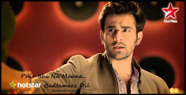 Badtameez Dil 5th Nov. 2015