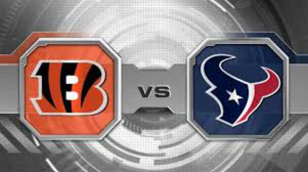 Texans vs Bengals Live Streaming