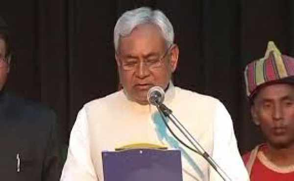 Nitish Kumar Took Oath As Bihar Chief Minister; Lalu's Sons In Government