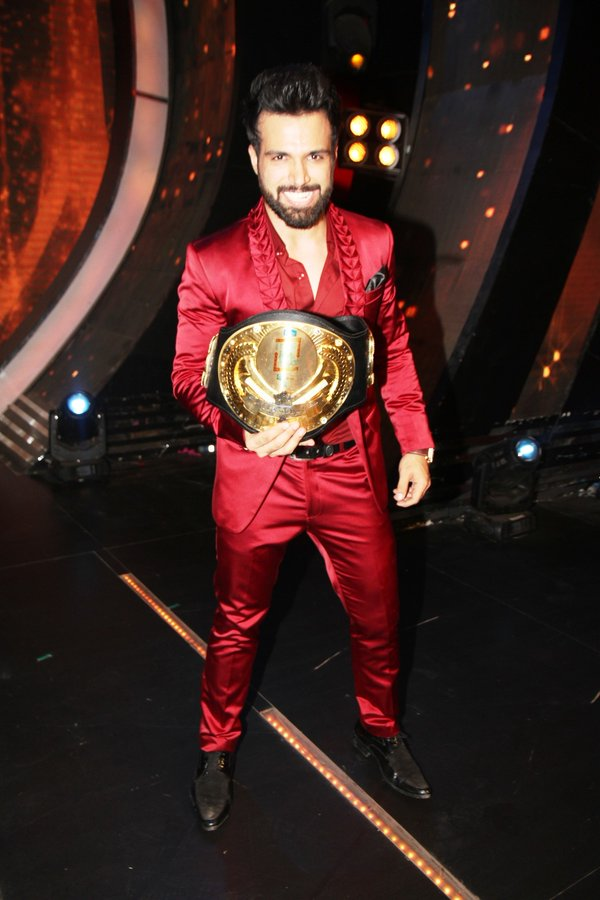 Rithvik after winning 'I can Do That' title
