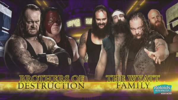 WWE Survivor Series 2015 Results