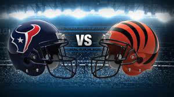 Texans vs Bengals Live Streaming