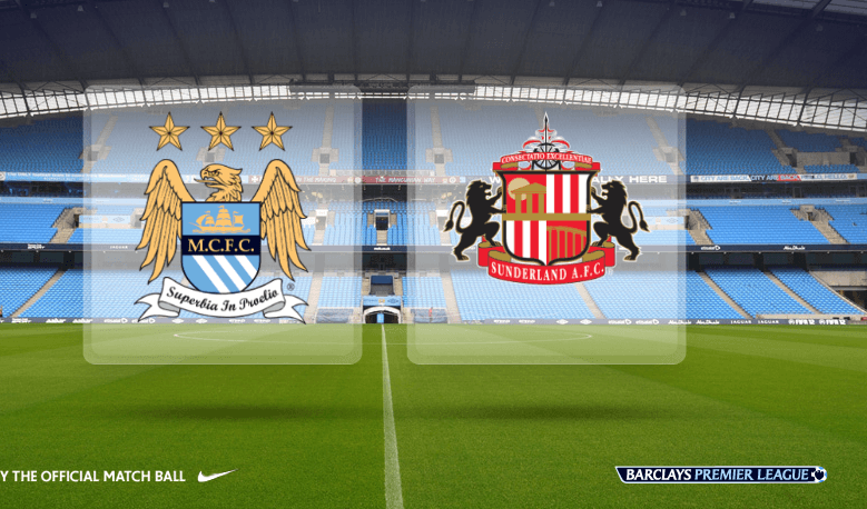 Manchester City vs Sunderland Live Streaming