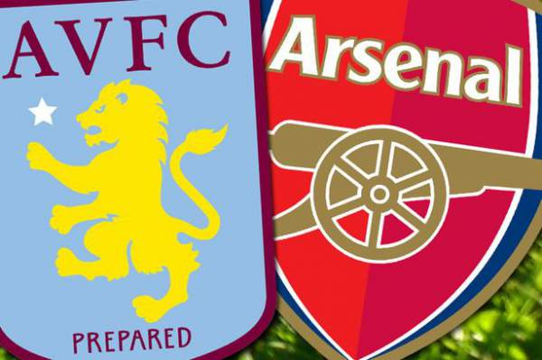Aston Villa vs Arsenal Live Streaming