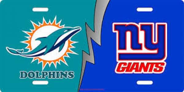New York Giants vs Miami Dolphins Live Streaming