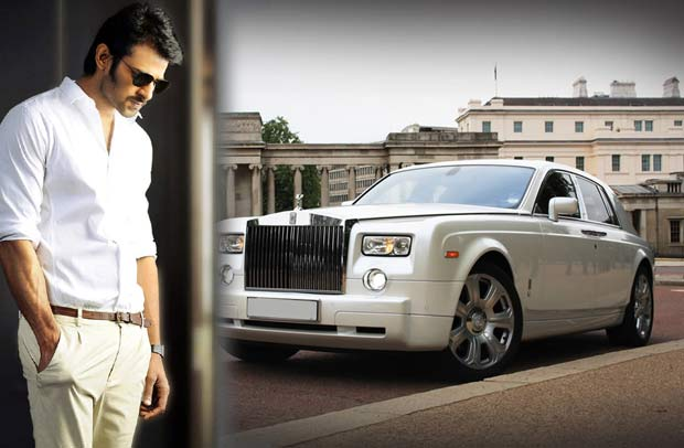 Prabhas Shocks Everyone With His New Car, Rolls Royce Phantom