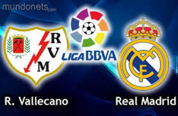 Real Madrid vs Rayo Vallecano Live Streaming