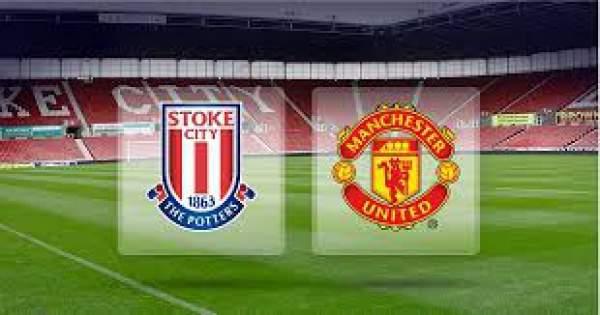 Stoke City vs Manchester United Live Streaming