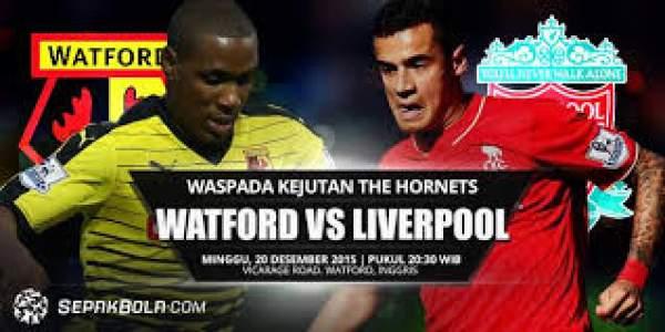 Watford vs Liverpool Live Streaming