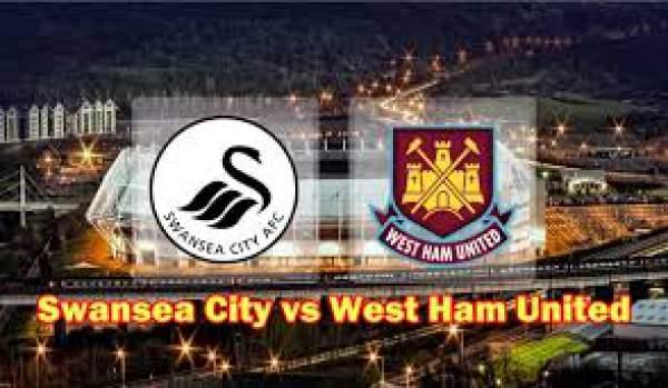 Swansea City vs West Ham Live Streaming