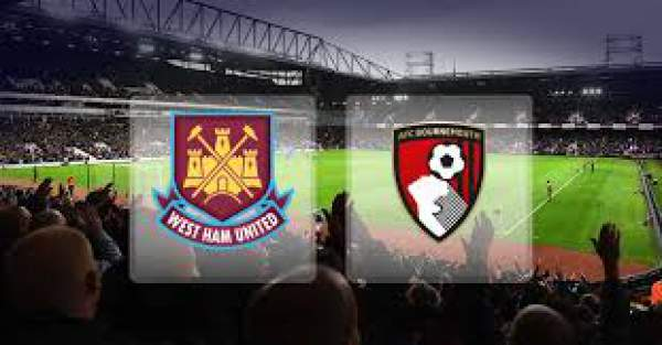 Bournemouth vs West Ham United Live Streaming