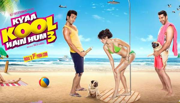 Kya Kool Hai Hum 3 2nd Day Collection 2 Days KKHH3 1st Saturday Box Office