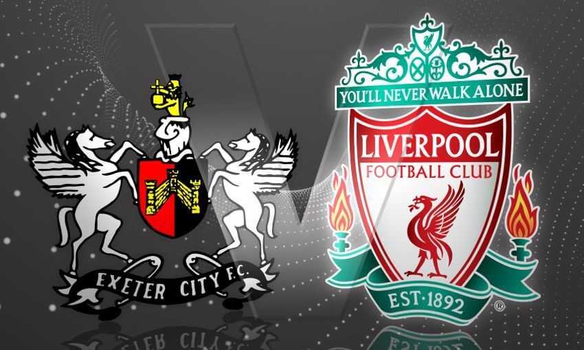 Exeter City vs Liverpool Live Streaming