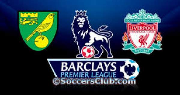 Norwich City vs Liverpool Live Streaming