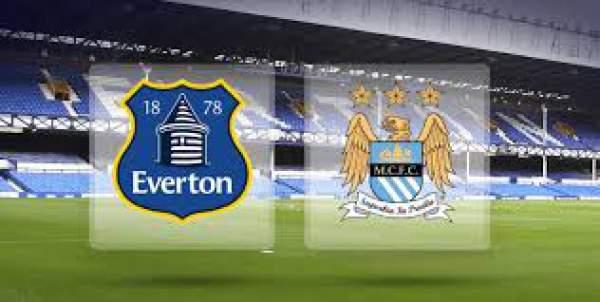 Manchester City vs Everton Live Streaming
