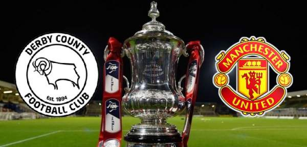 Derby County vs Manchester United Live Streaming