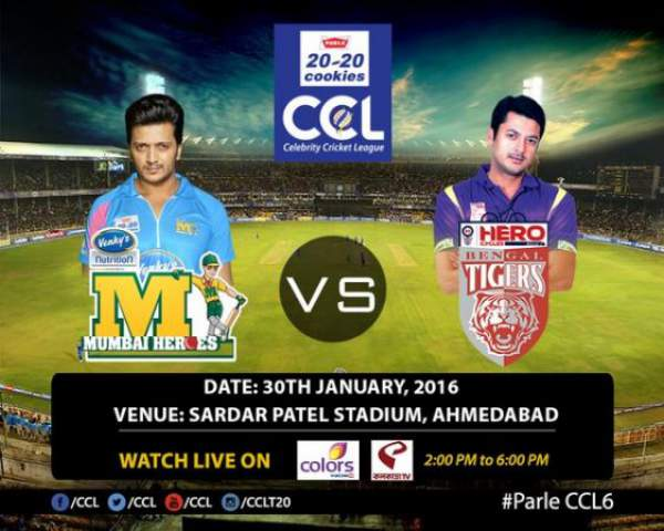 Mumbai Heroes vs Bengal Tigers Live Streaming