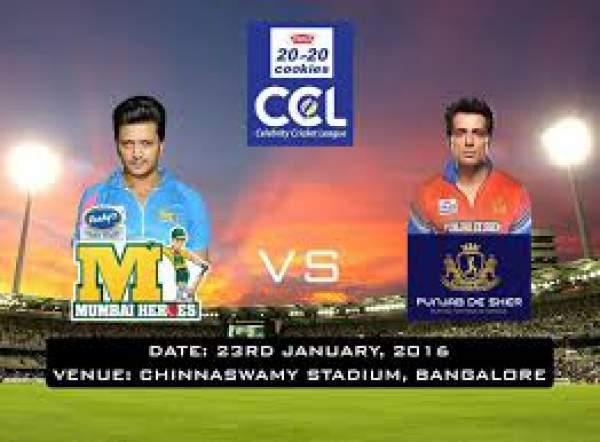 Match Preview Live Stream Info: Mumbai Heroes Vs Punjab De Sher Live Streaming Info: CCL