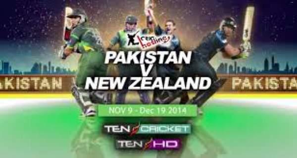 Pakistan vs New Zealand Live Streaming