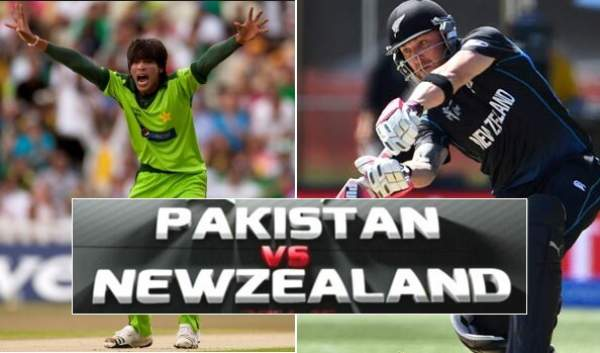 New Zealand vs Pakistan Live Streaming