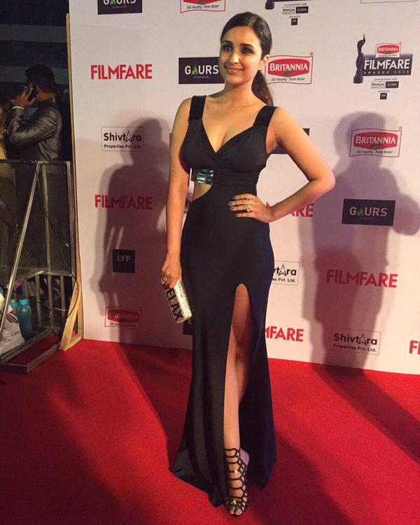 Parineeti Chopra who has recently released her workout photo album rocked on the carpet with her stunning looks