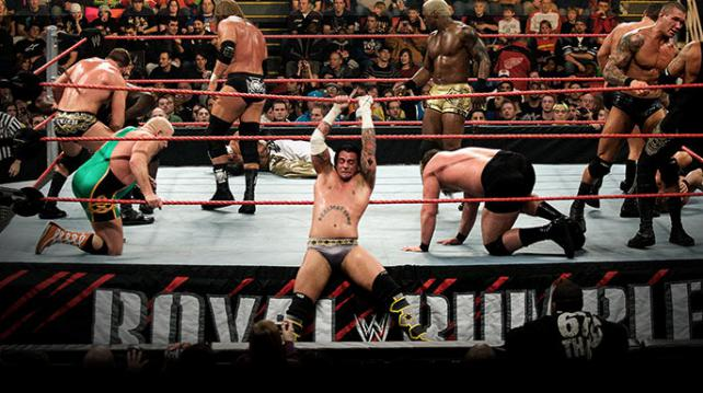 royal rumble wwe