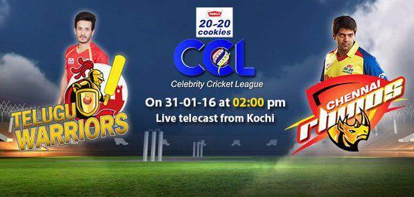 Telugu Warriors vs Chennai Rhinos Live Streaming