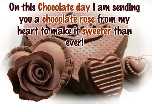 Happy Chocolate Day 2019 SMS Wishes Quotes Messages Shayari Greetings