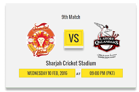 Islamabad United vs Lahore Qalandars Live Streaming