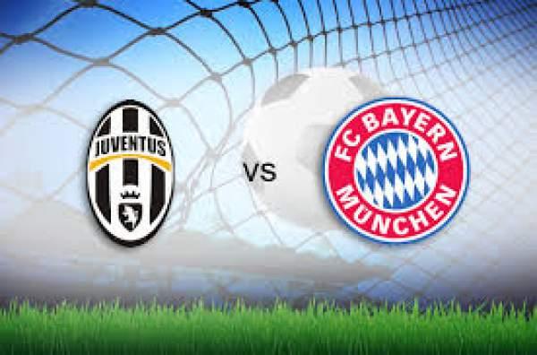 Juventus vs Bayern Munich Live Streaming