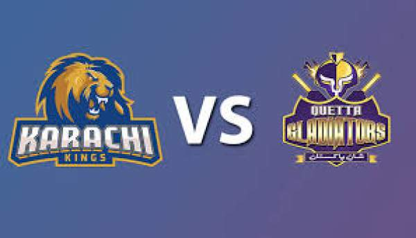 Quetta Gladiators vs Karachi Kings Live Streaming