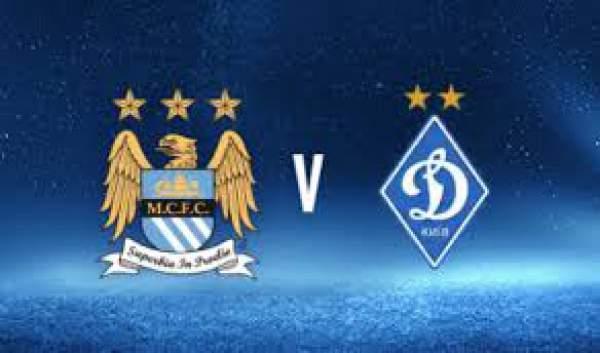 Dynamo Kyiv vs Manchester City Live Streaming