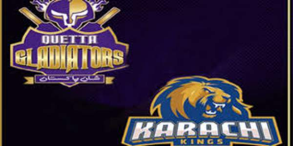 Quetta Gladiators vs Karachi Kings Live Streaming