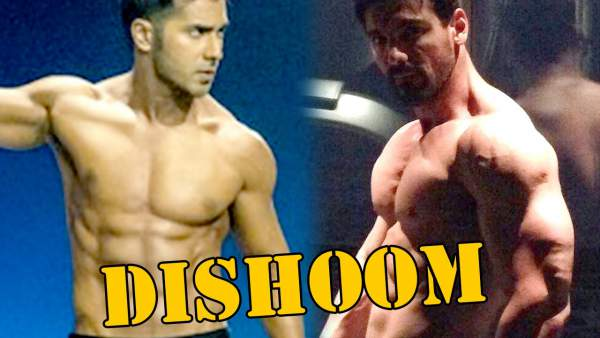 John Abraham and Varun Dhawan go Shirtless in 'Dishoom'