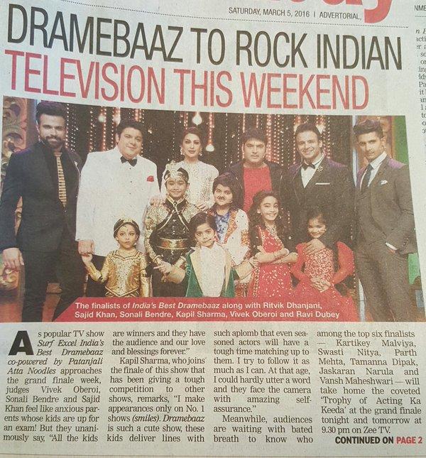 India's Best Dramebaaz 2 Winner